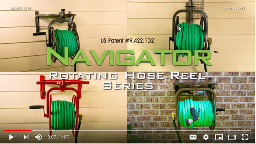 712 Rotating Hose Reel #1