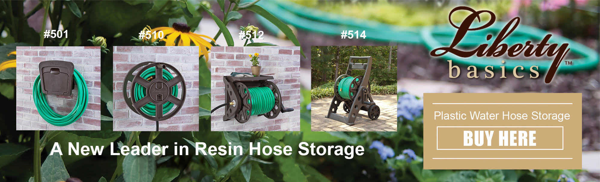 Liberty Basics - A new leader in resin hose storage - 2020 pic