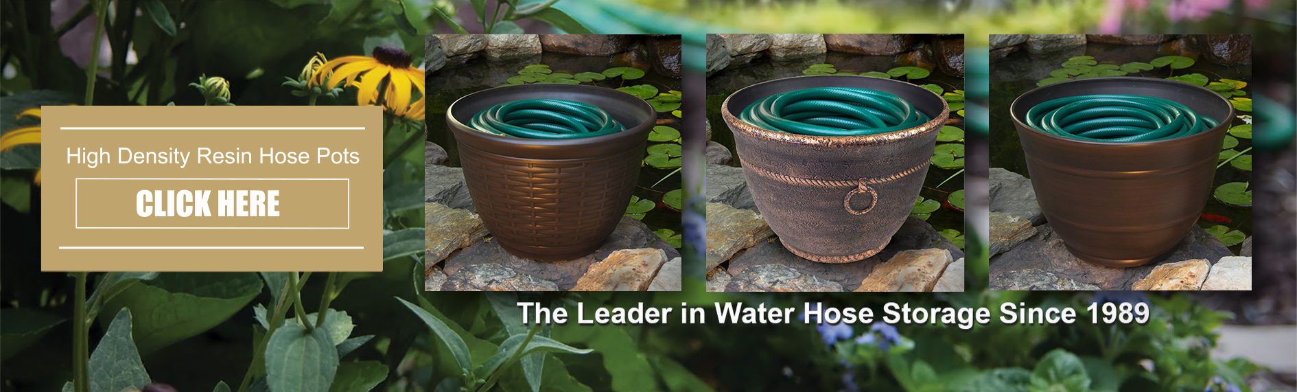 High Density Resin Hose Pots