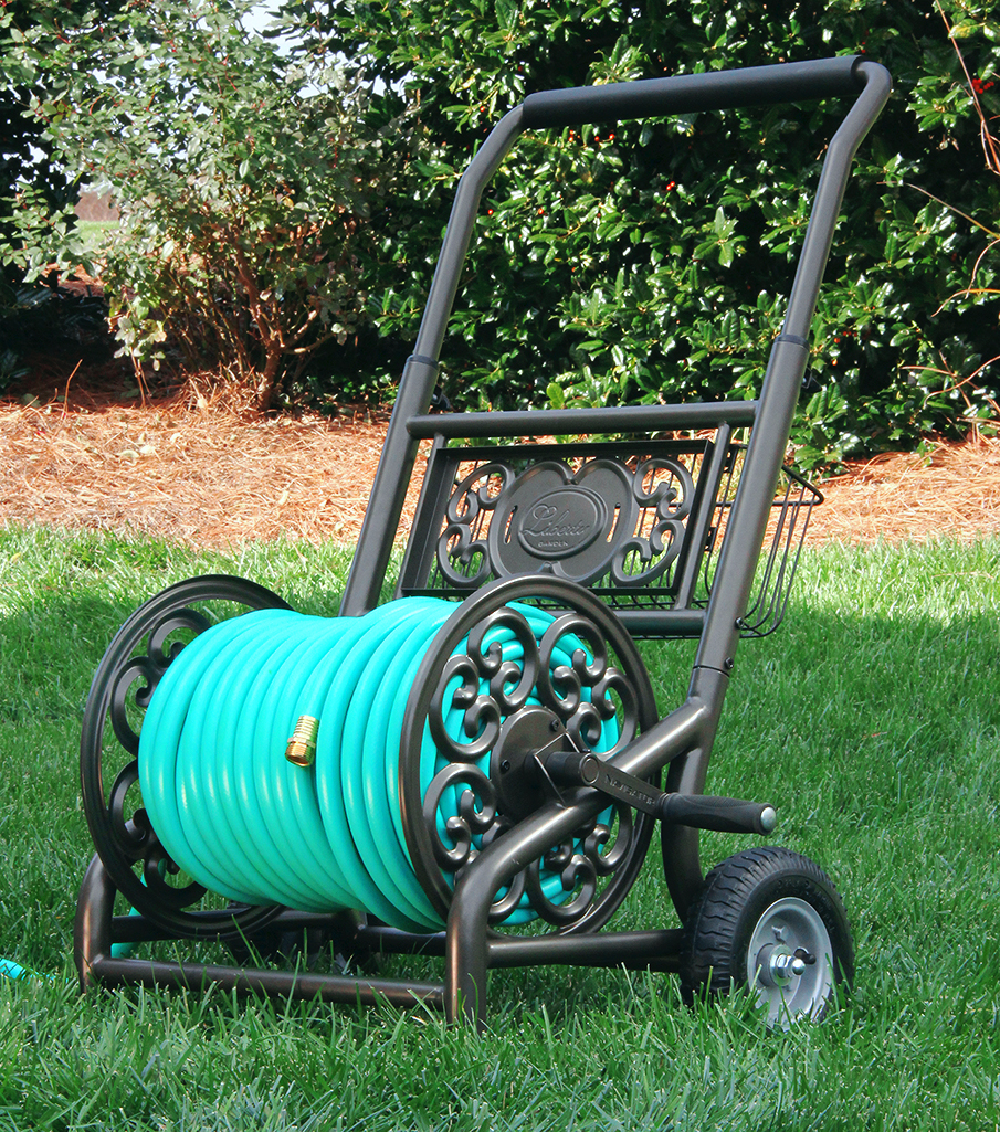 301 Decorative Two Wheel Hose Cart