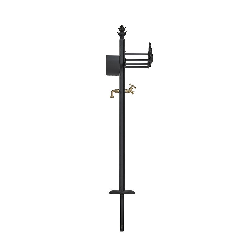118 Cast Aluminum Decorative Hose Stand