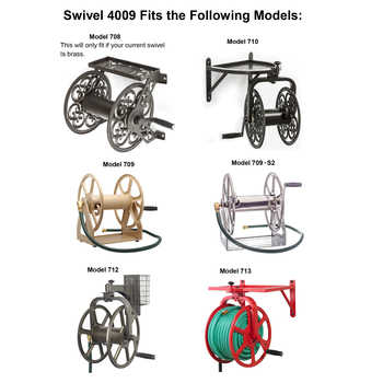 4009 Swivel fits Models 708, 709, 709-S2, 710, 712, and 713